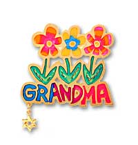 Photo of Floral Grandma w/Star [Click to enlarge]